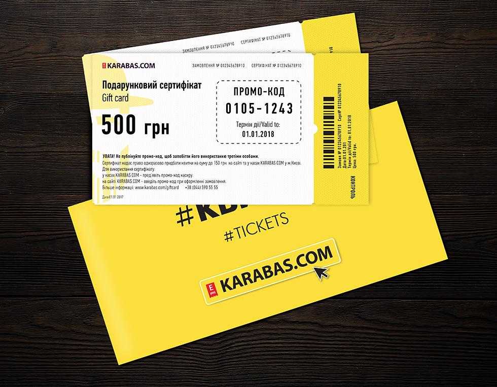 Gift Card Karabas